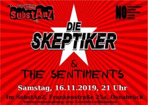 Die Skeptiker + The Sentiments